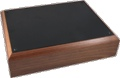 Box Hammond Chassis Assembled Walnut Black 13x10x3 Inch