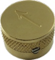 Knob Gretsch Arrow Only Gold package of 4