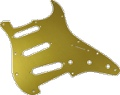 Pickguard Original Fender American Strat 11-Hole Gold