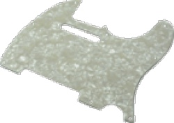 Pickguard Original Fender American Tele 8-Hole White Pearloid