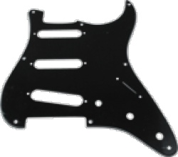 Pickguard Original Fender Vintage 57 Strat 8-Hole Black