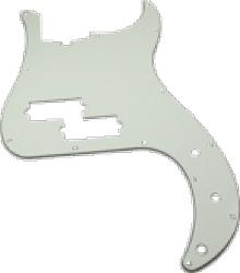 Pickguard Original Fender American P-Bass Parchment