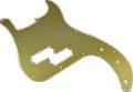 Pickguard Original Fender 57 P-Bass Gold-Anodized