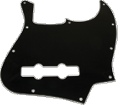 Pickguard J-Bass 3-Ply Black