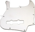 Pickguard J-Bass 3-Ply White