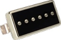Pickup Gibson P-94R Humbucker Size P-90 Black with Chrome Neck