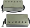 Pickup Porter Hand Wound Humbucker Set w Chrome Covers