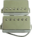 Pickup Porter Hand Wound Anthem PAF Humbucker Set Nickel