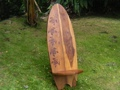 Longboard Surf Chair Turtle Design Pool Decor