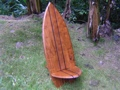Longboard Surf Chair 2-Stringer Design Pool Decor