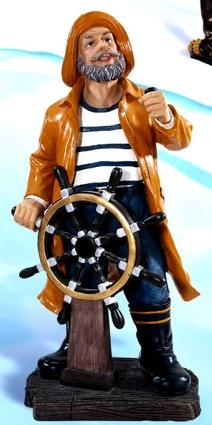 18.5 Inch Salty Captain Nautical Figure