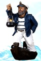 20 Inch Captain on Boat Nautical Figure