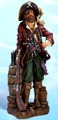 25 Inch Pirate with Rifle Nautical Figure