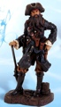 25 Inch Blue Coat Pirate Nautical Figure