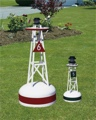 28 Inch PVC Ornamental Nautical Buoy