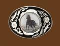 Horse Belt Buckle 3-1/4 x 2-1/2