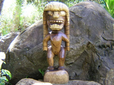 God Of King Kamehameha 36 Hand Carved ? Kuka'Ilimoku