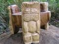 Scorpion Tiki Bowl 12 Acacia Wood Hand Carved