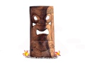 Kanaloa Tiki Mask 18 Natural Color Hawaiian Tradition