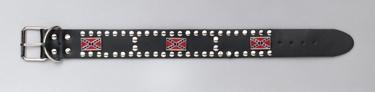 Rebel Dog Collar Leather 12-15 neck
