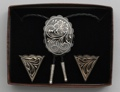 Bolo Tie & Collar Tip Boxed Set - German Silver