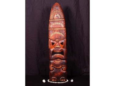 God Of Surf Tiki Mask 40 Surf Decor