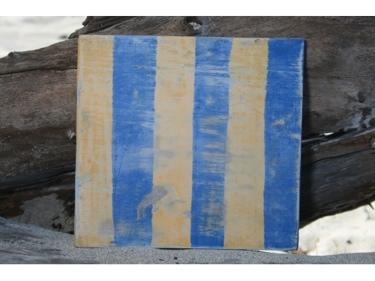 G Nautical Rustic Flag 8' X 8' Wood Panel Nautical Decor