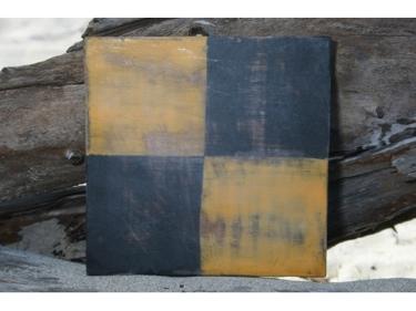 L Nautical Rustic Flag 8' X 8' Wood Panel Nautical Decor