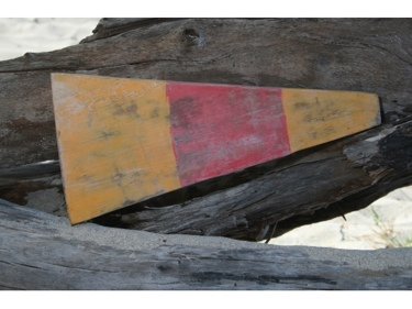 0 Nautical Numeric Flag 12 Wood Panel Nautical Decor