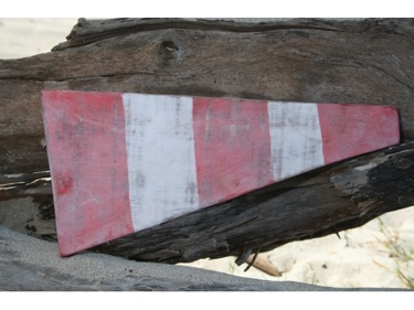 00 Nautical Numeric Flag 12 Wood Panel Nautical Decor