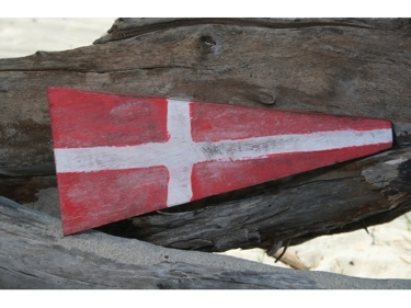 4 Nautical Numeric Flag 12 Wood Panel Nautical Decor