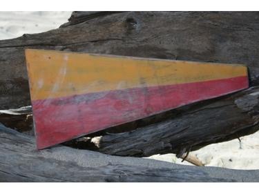 7 Nautical Numeric Flag 12 Wood Panel Nautical Decor