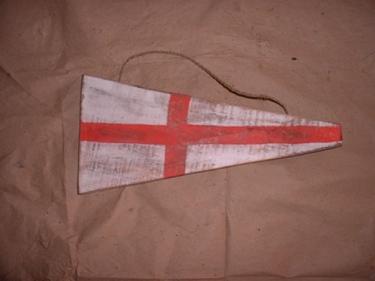 8 Nautical Numeric Flag 12 Wood Panel Nautical Decor