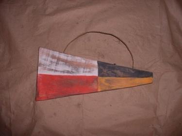 9 Nautical Numeric Flag 12 Wood Panel Nautical Decor