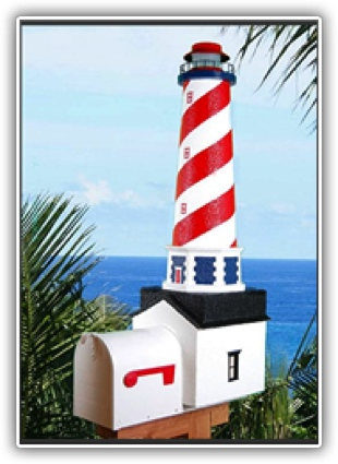American Lighthouse Mailboxes