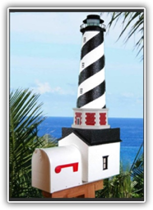 Cape Hatteras Lighthouse Mailboxes