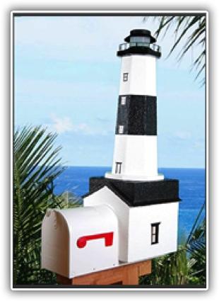 Montauk Lighthouse Mailboxes