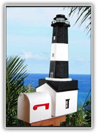 Tybee Island Lighthouse Mailboxes