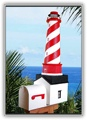 White Shoal Lighthouse Mailboxes