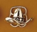 Scarf Slide/Hat/Silver