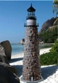 5 Foot Stone Lighthouse