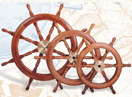 24 Inch Ship Wheel Nautical Ship Wheel