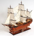 HMS Endeavour OMH Handcrafted Model