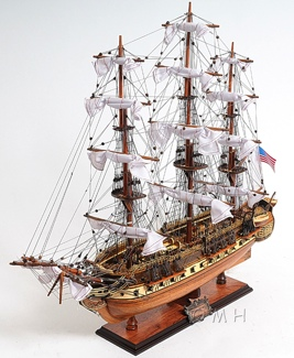 USS Constitution Medium OMH Handcrafted Model