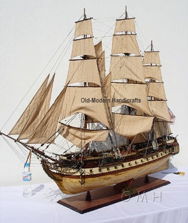 USS Constitution XL OMH Handcrafted Model