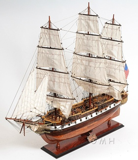 USS Constellation XL OMH Handcrafted Model