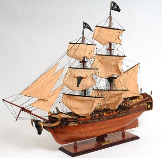 Pirate Ship Exclusive Edition OMH Handcrafted Model