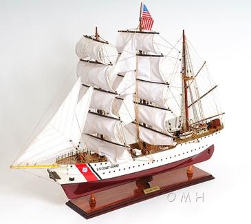 US. Coast Guard Eagle E.E. OMH Handcrafted Model