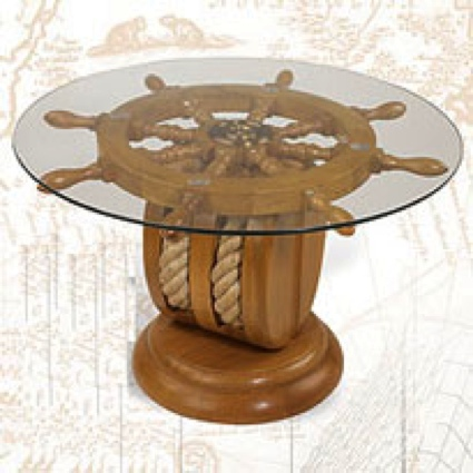 Table WithPully Nautical Decor