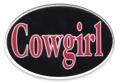 Trailer Hitch Cover - Cowgirl 3 1/2 x 5 z